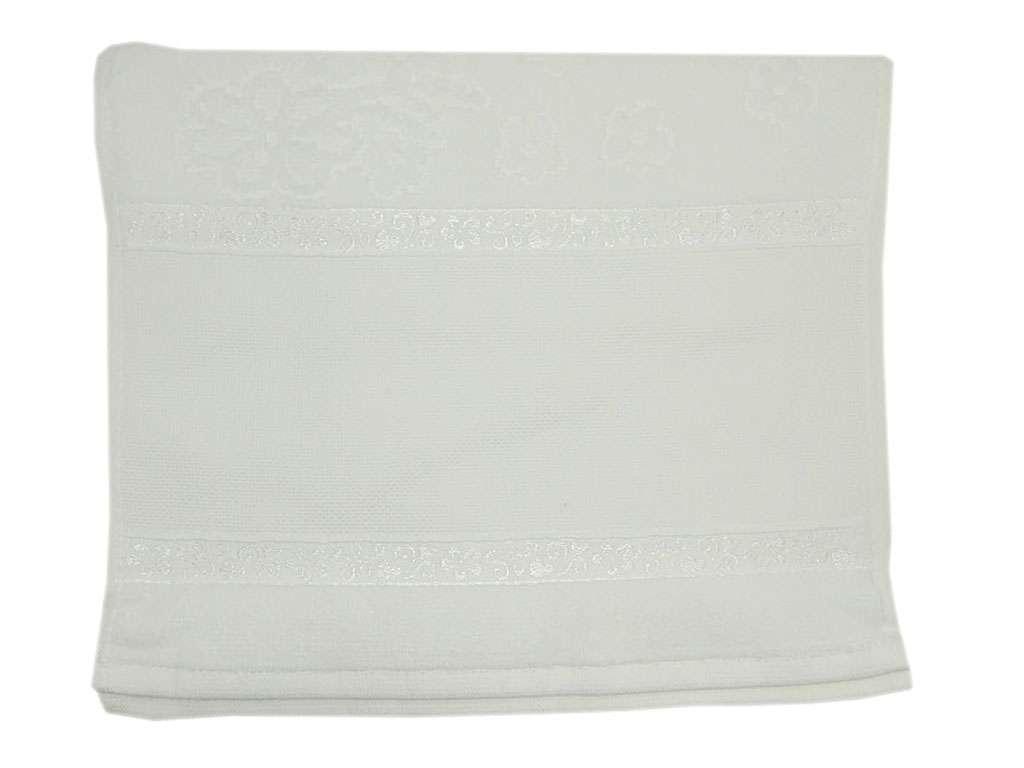6'lı Etaminli Havlu 30*50 Mutfak Havlusu Ebatı Kanaviçe İşlemelik Beyaz