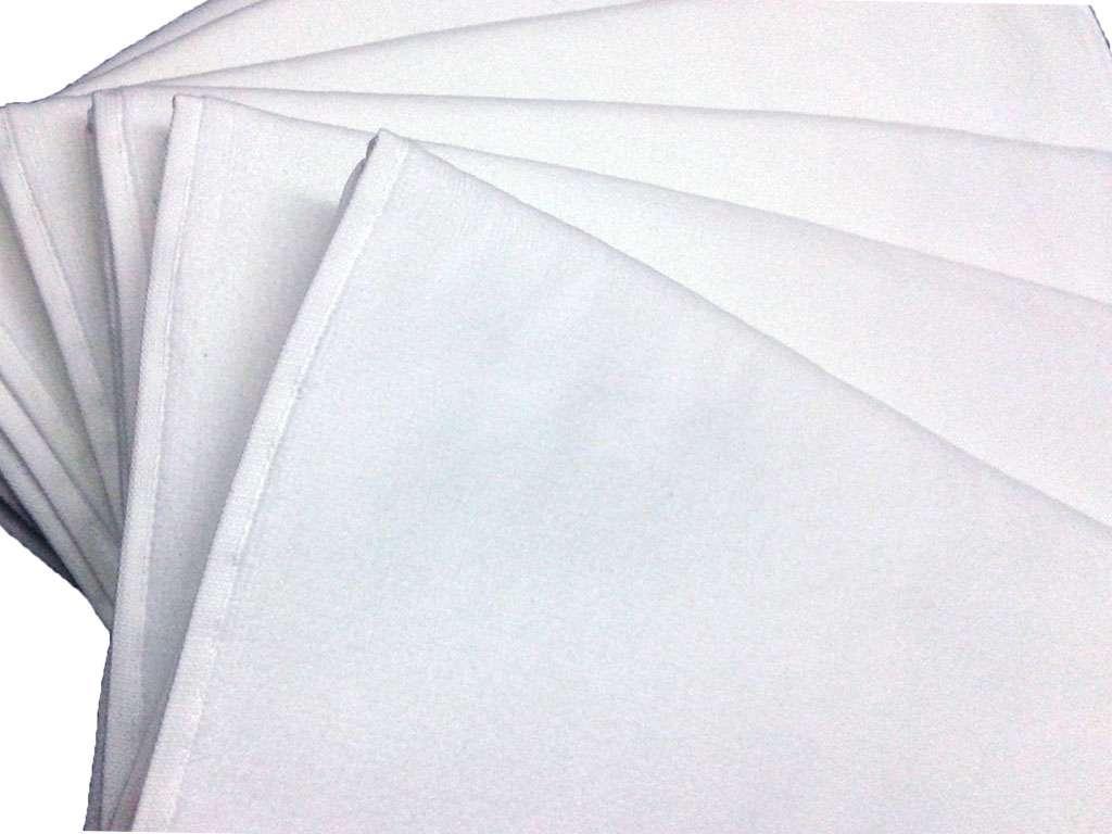 6'lı Fiesta Marka Düz Çisem 50x90 Beyaz Havlu