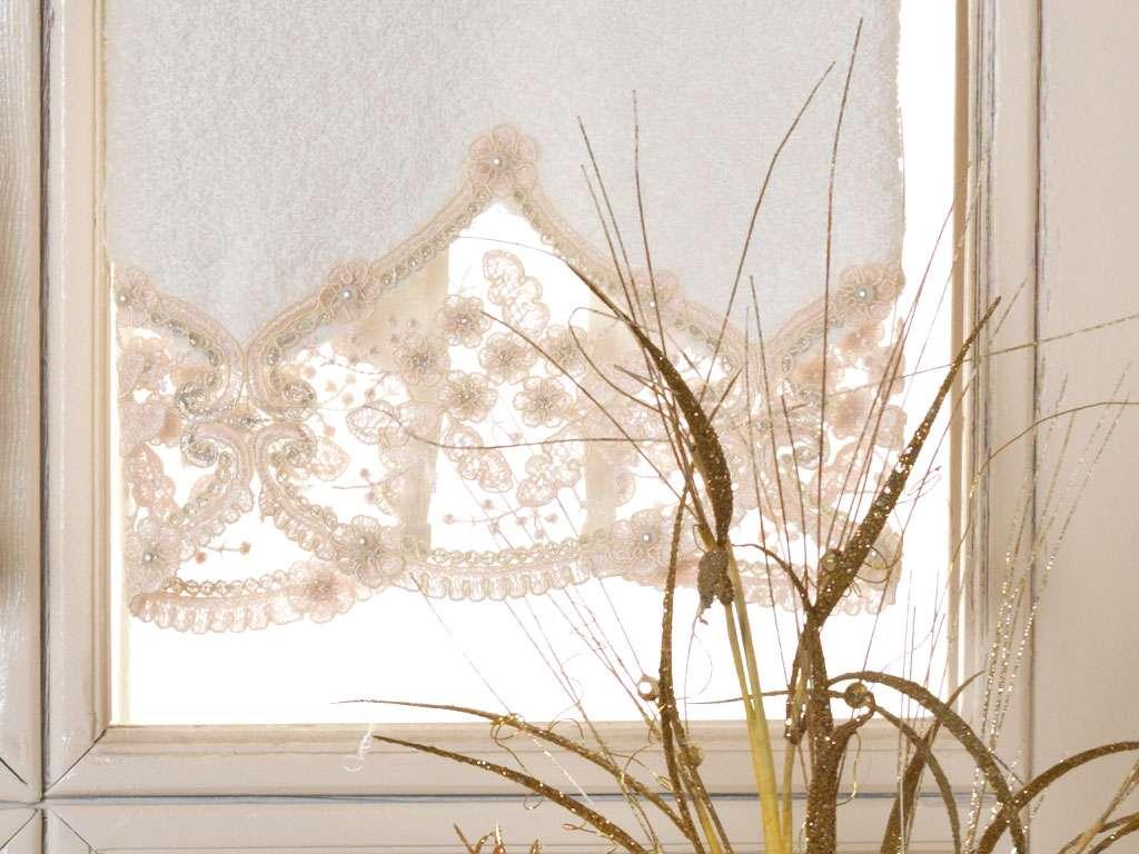 Fransız Güpürlü 50x90 Bamboo Havlu Dora Anna Karina
