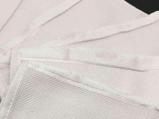 6'lı Fiesta Etaminli Havlu   KANAVİÇELİK 30x50 Beyaz Küçük Mutfak Havlu
