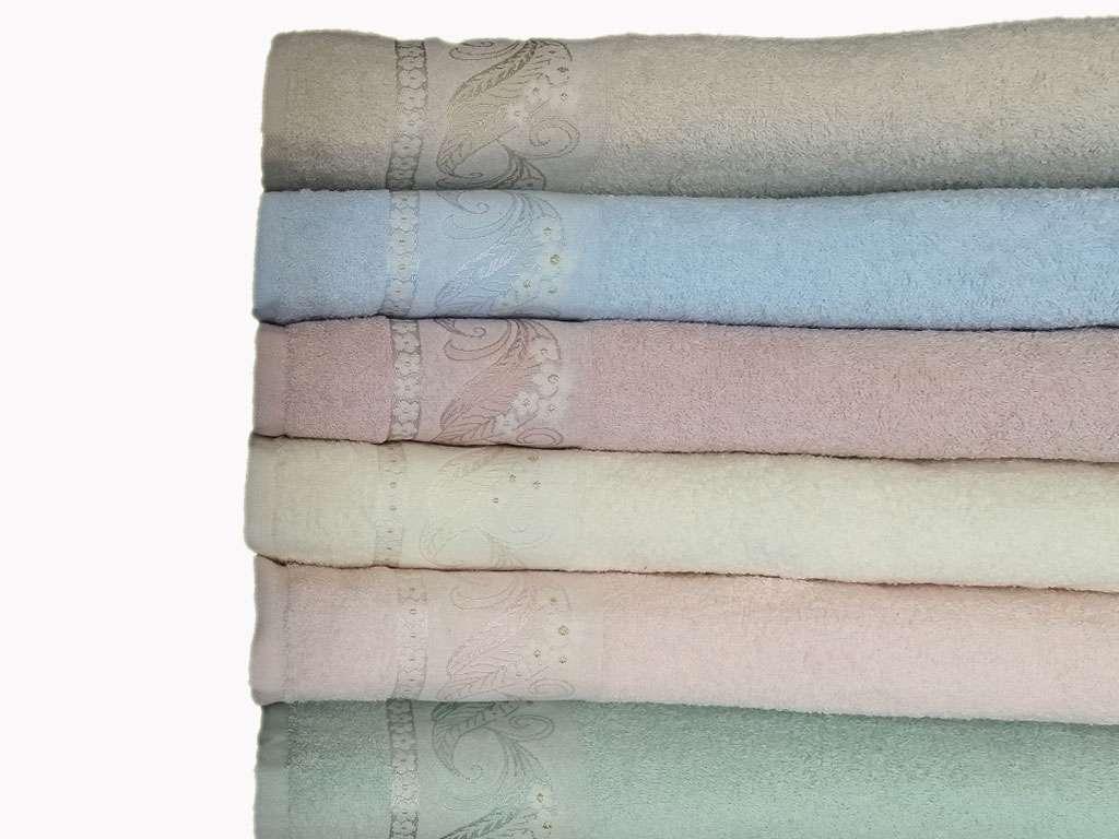 12'li Soft Jakarlı Renkli Ei Yüz Havlusu