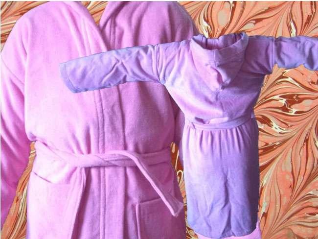 Çocuk Bornozu Kadife 15-16 Yaş