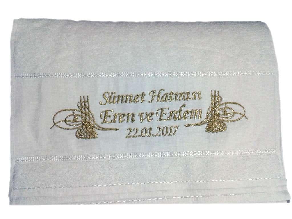 İsim Yazılı Sünnet Havlusu 50x80 Eren