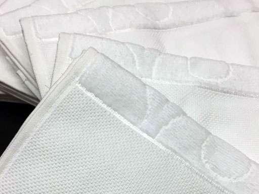 6'lı Nurpak Etaminli Havlu  KANAVİÇELİK 30x50 Beyaz Küçük Mutfak Havlu