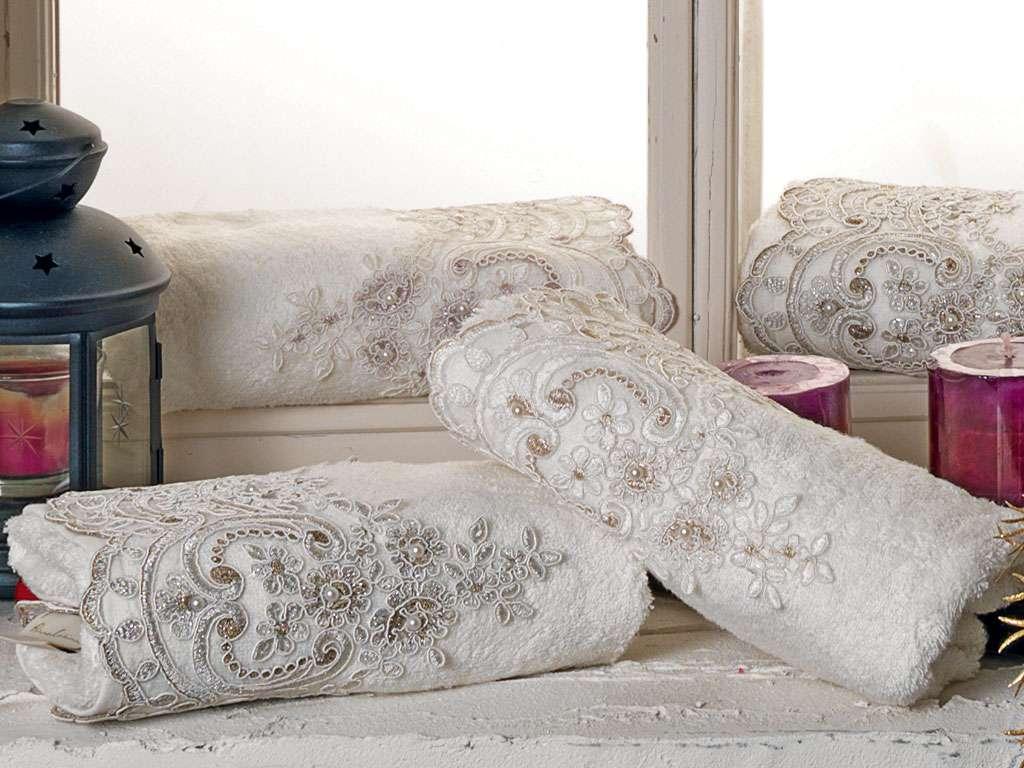 Fransız Güpürlü 50x90 Bamboo Havlu Öykü Anna Karina