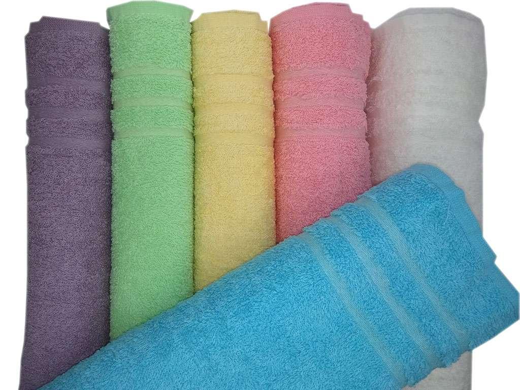 12'li Soft Düz Renkli Ei Yüz Havlusu