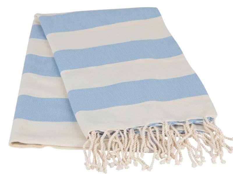Peştemal El Dokuma - Bebek Mavi