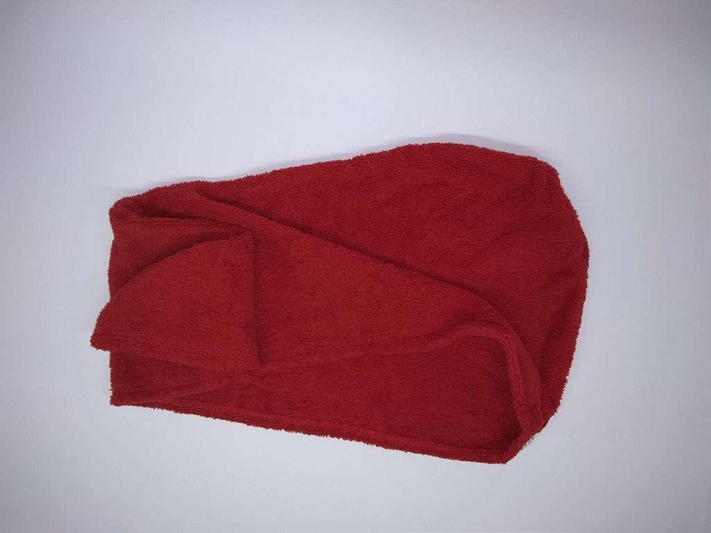 Havlu Bone %100 Pamuklu Derya Tekstil Kırmızı