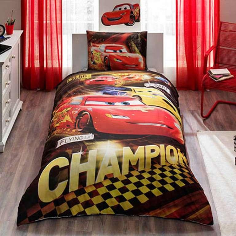 Taç Lisanslı Cars Champion Yatak Örtüsü