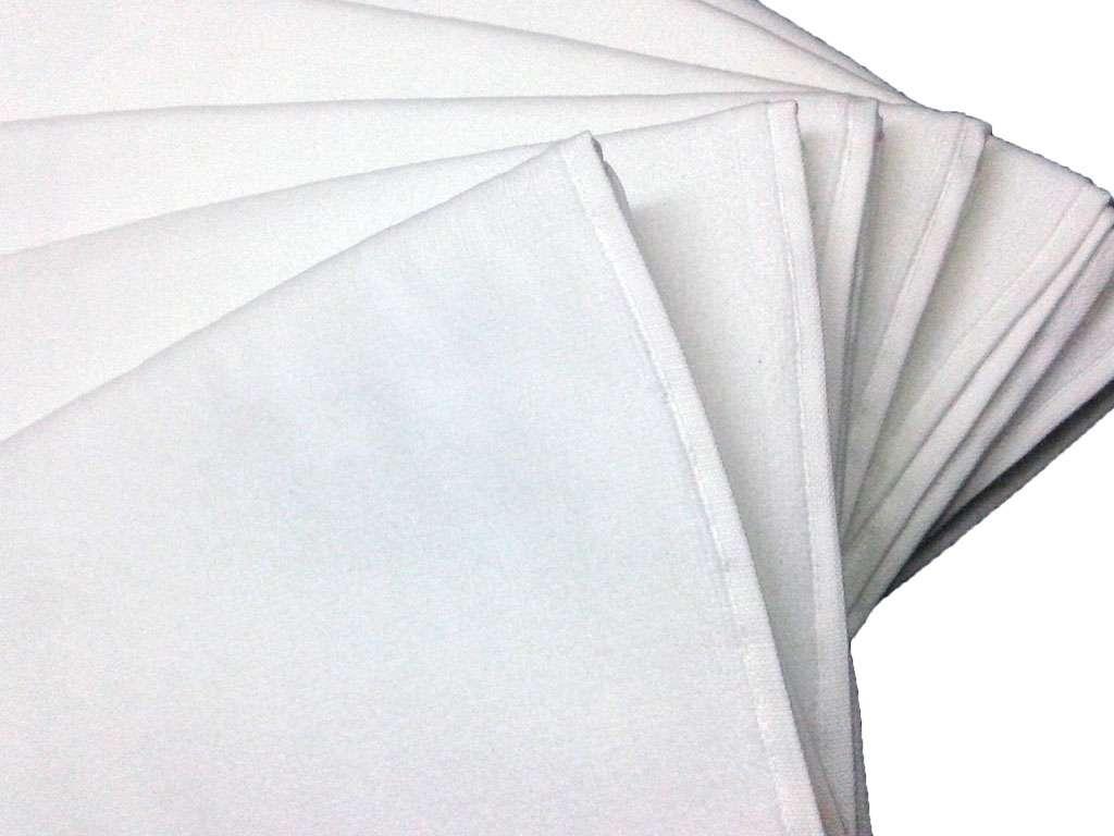 6'lı Düz Kadife Çisem Kardelan Marka 50x90 Havlu Beyaz