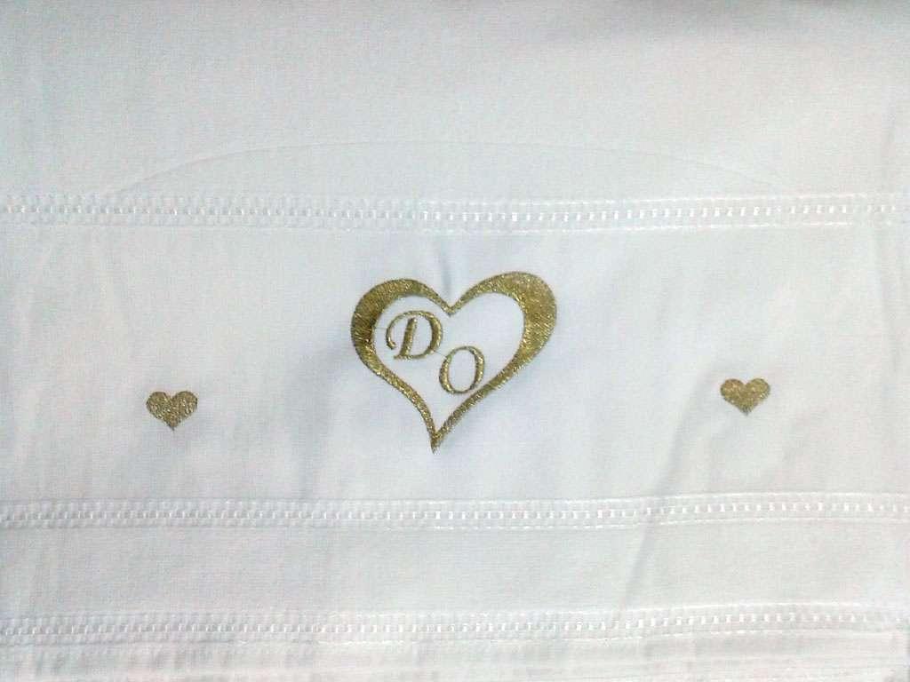 İsme Özel Tasarımlı Düğün Havlusu 50x90
