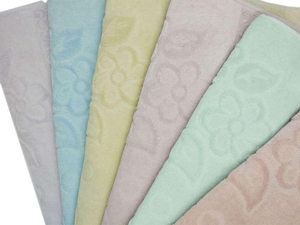 12'li Fiesta Soft Etaminli Havlu KANAVİÇELİK Renkli 50X90 El Yüz Havlusu