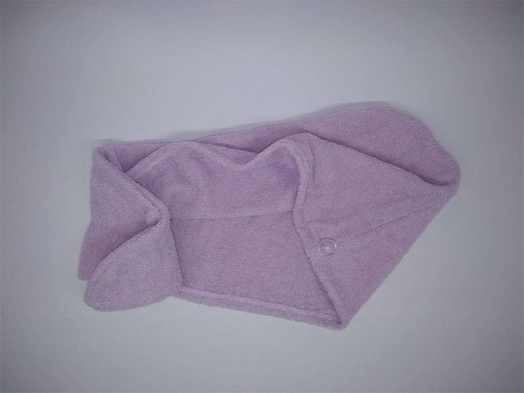 Havlu Bone %100 Pamuklu Derya Tekstil lila