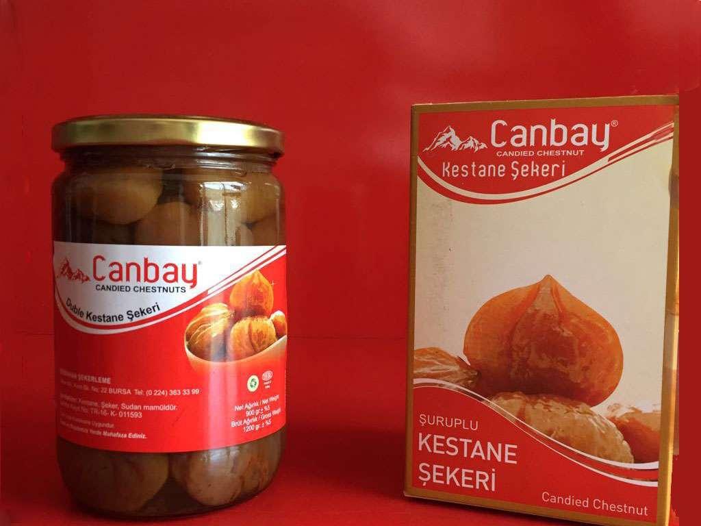 Kestane Şekeri Kavanoz 900 gr.