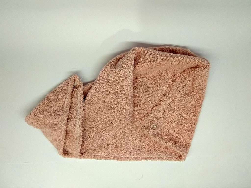 Havlu Bone %100 Pamuklu Derya Tekstil Açık Kahve