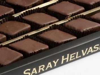 Kafkas Saray Helva Çikolata Kaplı 550 Gr.