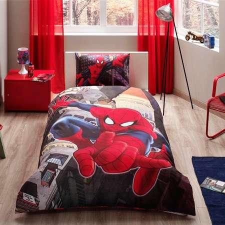 TAÇ Lisanslı Spiderman İn City Nevresim Takımı