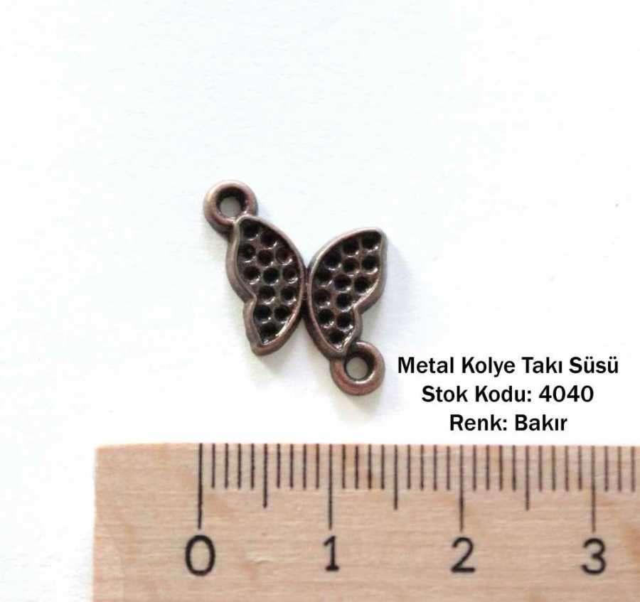 İlbay Metal Kolye Süsü 4040