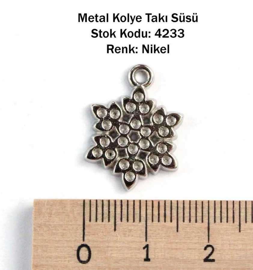 İlbay Metal Kolye Süsü 4233