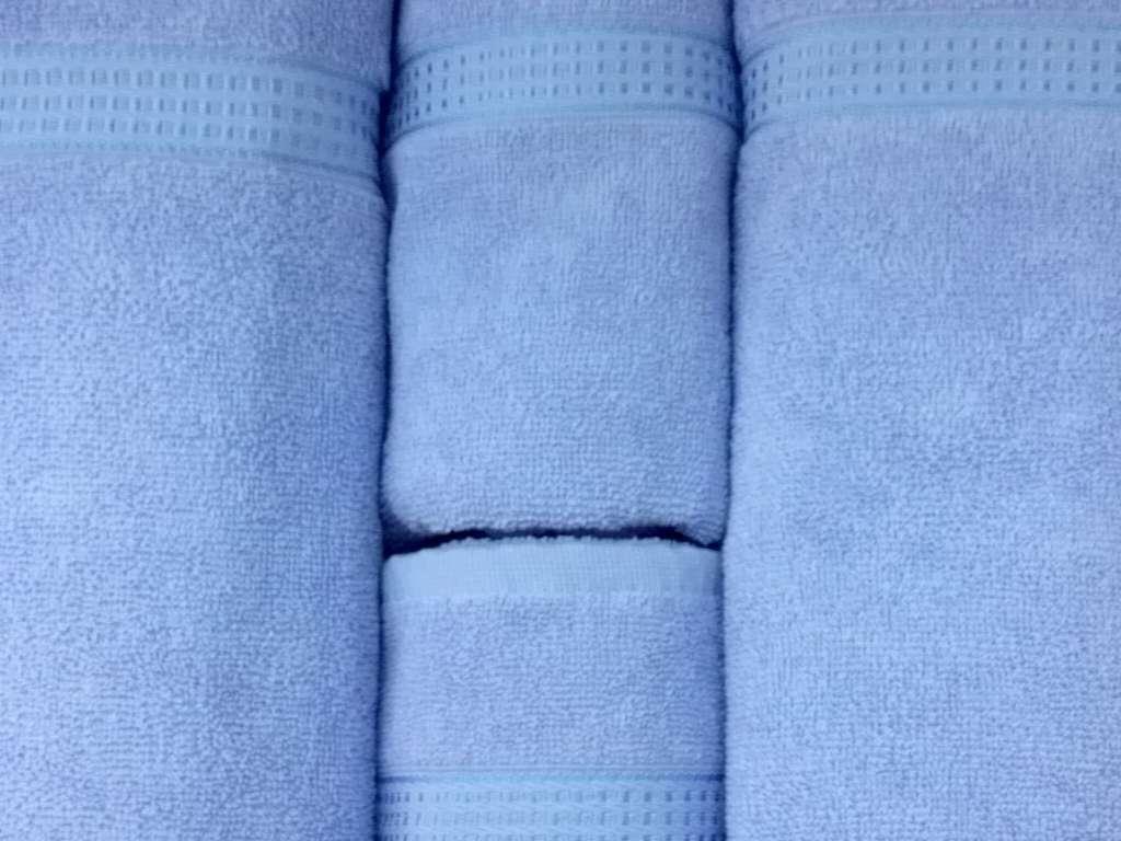 Banyo 4'lü Havlu Set- 2 Duş 2 Baş Havlusu