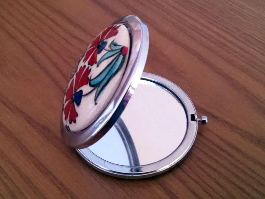 İznik Çinili Makyaj Aynası