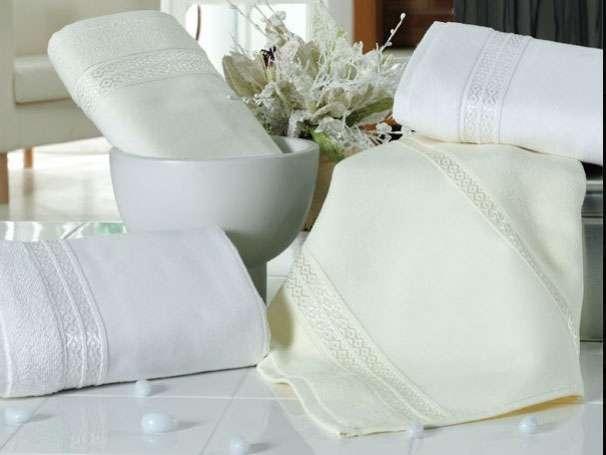 12'li Fiesta Beyaz 30x50 Boş İşlemelik Küçük Mutfak Havlu