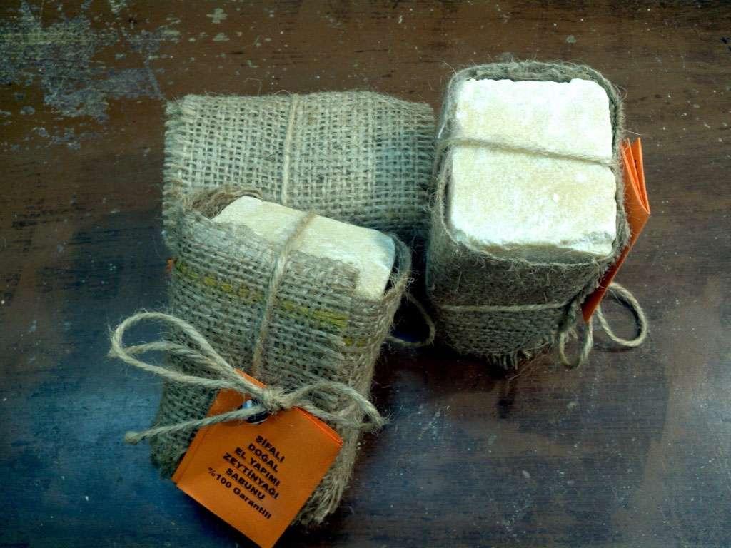 Zeytinyağlı Sabun %100 El Yapımı Doğal Naturel