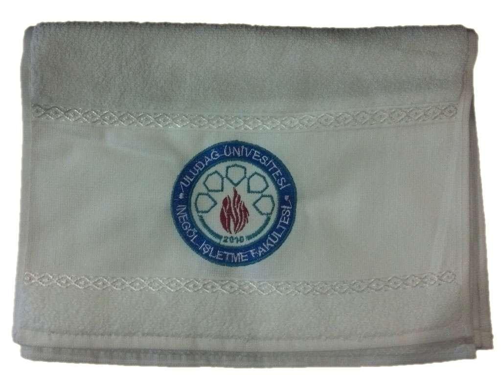 Firmalara, Kurumlara Logo Nakışlı  30x50  Havlu