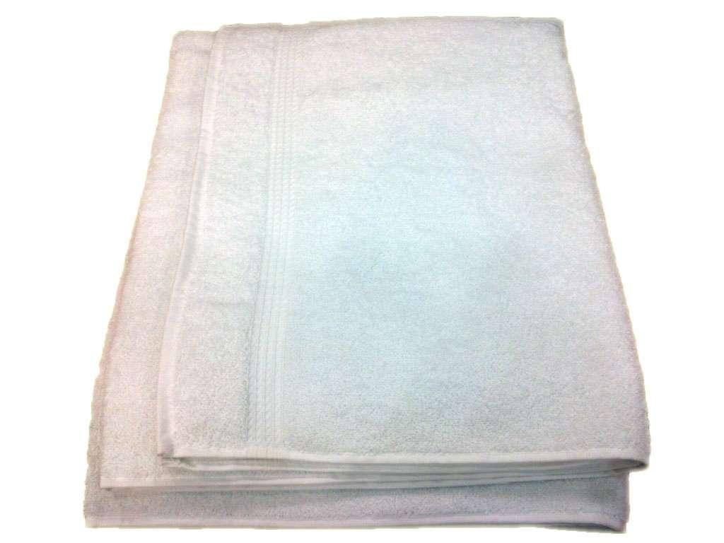 100X150 Osmanlı Beyaz Banyo Havlusu