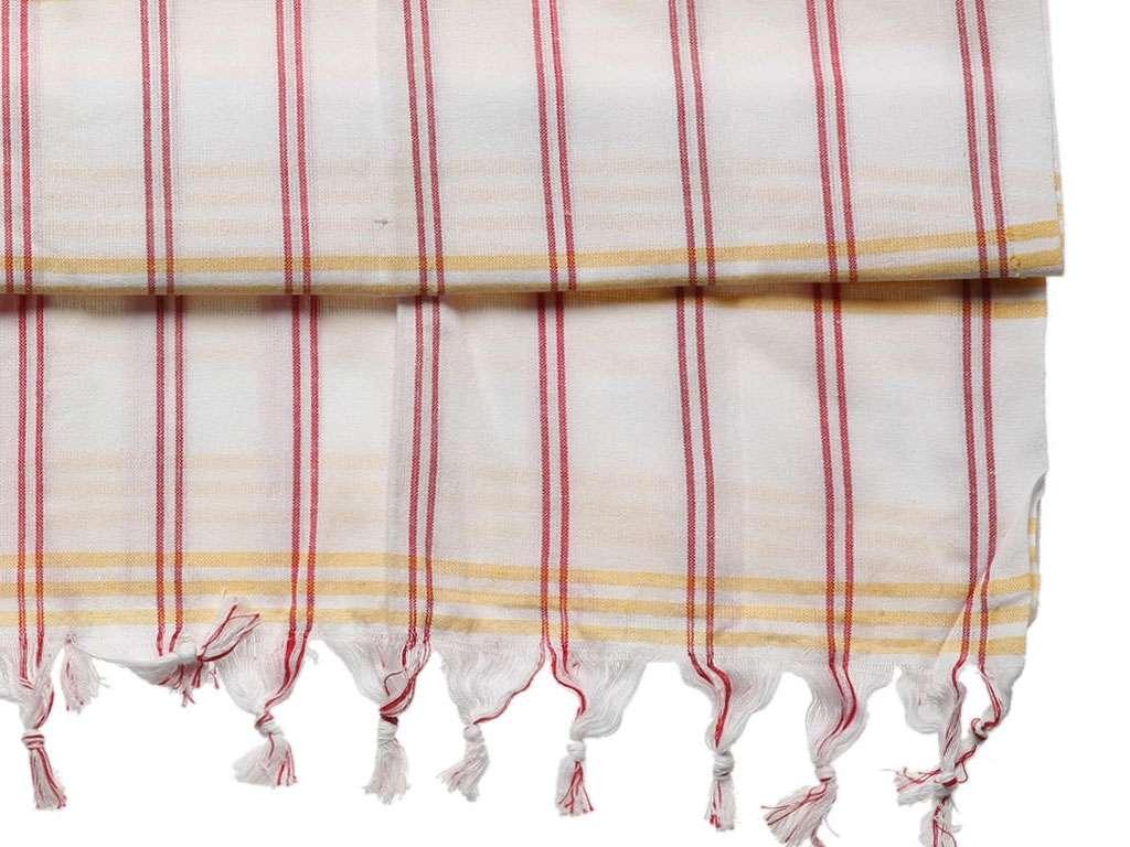 Saraylı Peştemal %100 Pamuk 80x180 Sarı