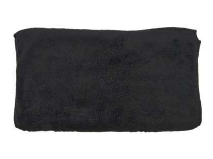 12'li Boya Tutmaz Renk Vermez Microfiber Siyah Berber Kuaför Saç Boya Havlusu