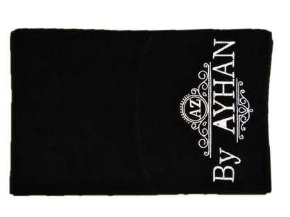 Kurumsal Havlu Özel Tasarım 50x90 Siyah Renkli By Ayhan