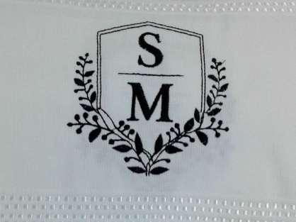 Logo Tasarımlı Kurumsal Hediyelik Yazılı Havlu 50x90 Kadife