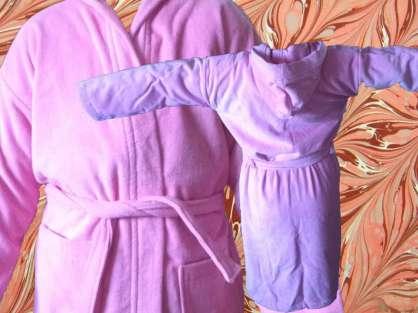 Çocuk Bornozu Kadife 13-14 Yaş