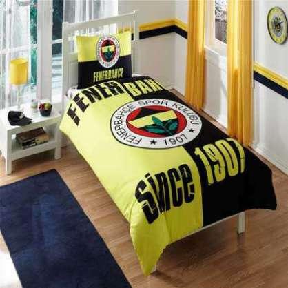 Taç Lisanslı Fenerbahçe 1907 Nevresim Tek Kişilik