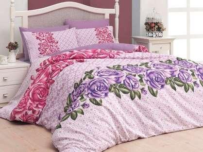 Uyku Seti Belanay Çift Kişilik Roses Lila