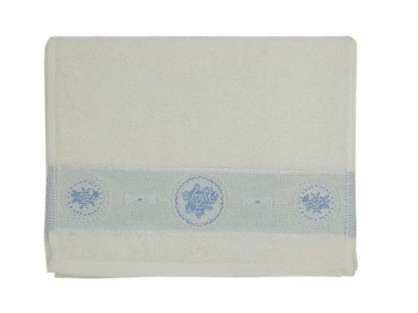 12'li Renkli Çiçek Desenli 30*50 Beyaz  Mutfak Havlusu