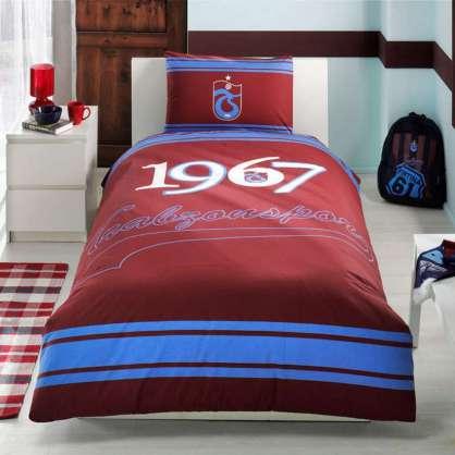 Taç Lisanslı Trabzonspor Logo Nevresim Takımı