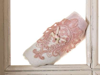 Fransız Güpürlü 50x90 Kadife Havlu Güzide Anna Karina