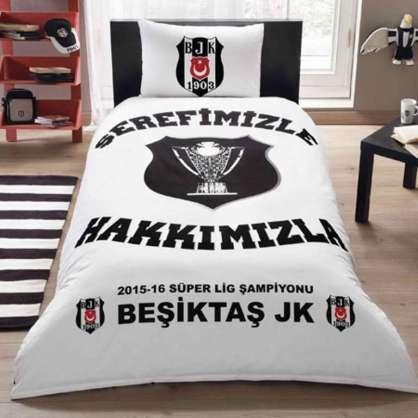 TAÇ Lisanslı Beşiktaş Şampiyonluk Nevresim Takımı