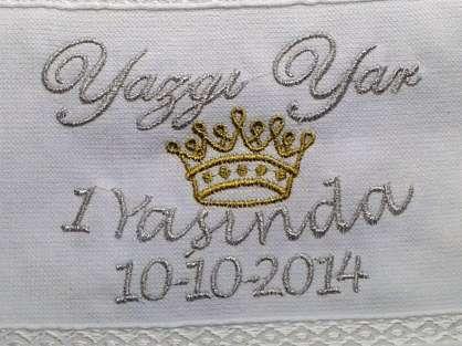 Doğum Günü Dağıtmalık Kişiye Özel İsim Yazılı 30x50