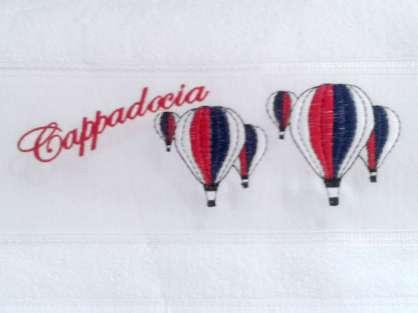 Logo Nakışlı Promosyon Havlu 50x80 Kapadokya Hatırası
