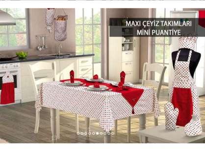 Çeyiz Takımı Happylife Maxi 16 Parça Mini Puantiye